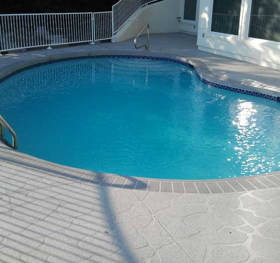Types Of Pool Deck